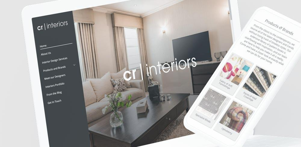 Responsive website for Yorkshire interior designers