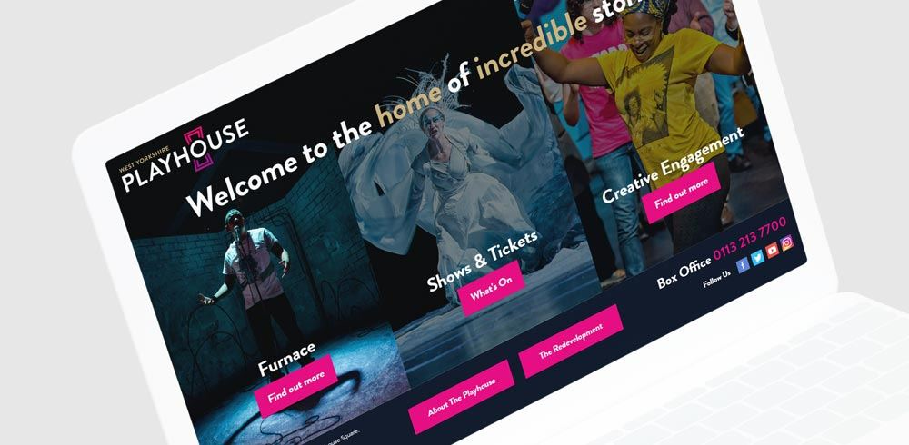 Leeds Playhouse web design