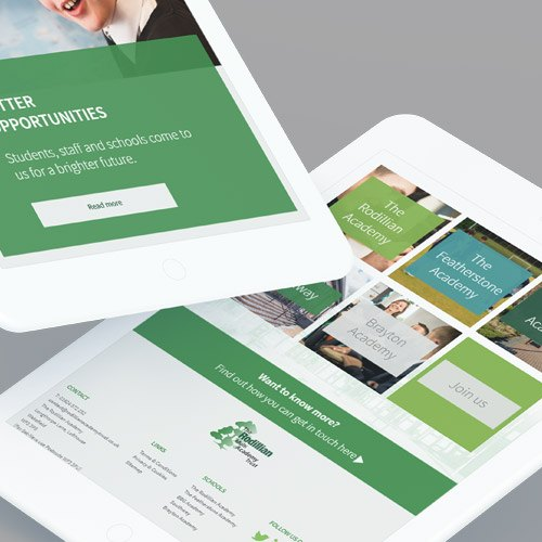 Responsive websites for Schools