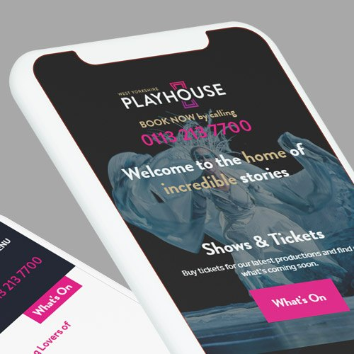 West Yorkshire Playhouse mobile website