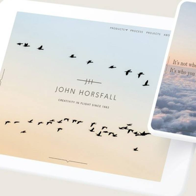 John Horsfall - Website design and WordPress build