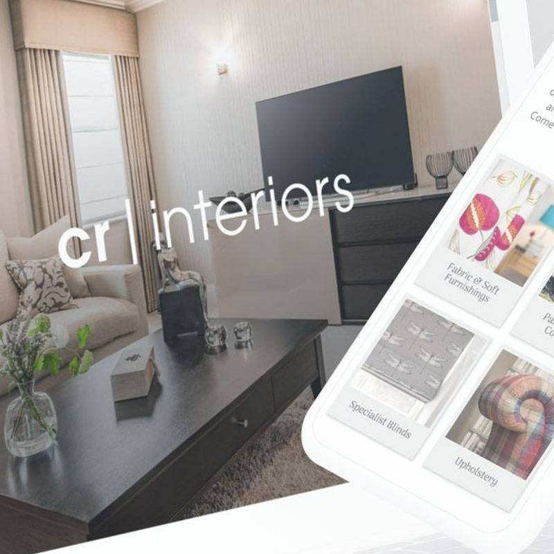 CR Interiors - Digital showroom, catalogue and portfolio