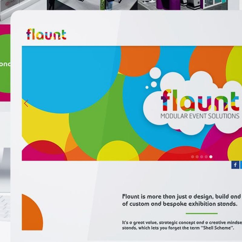 Flaunt – Service brochure with a lead generation focus